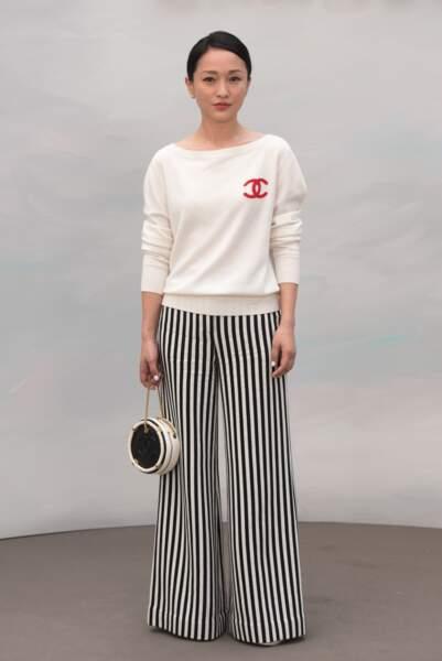 Défilé Chanel : Zhou Xun