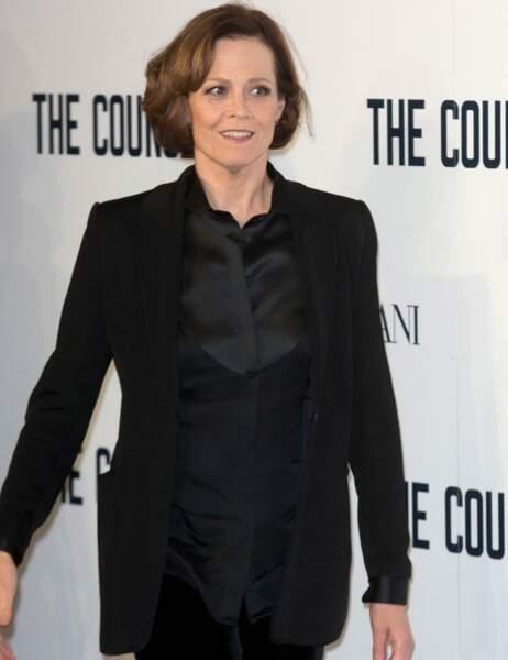 La très chic Sigourney Weaver était présente