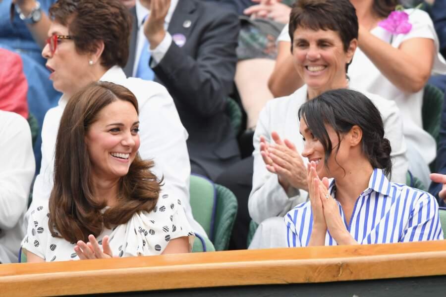 Kate Middleton et Meghan Markle s'entendent à merveille