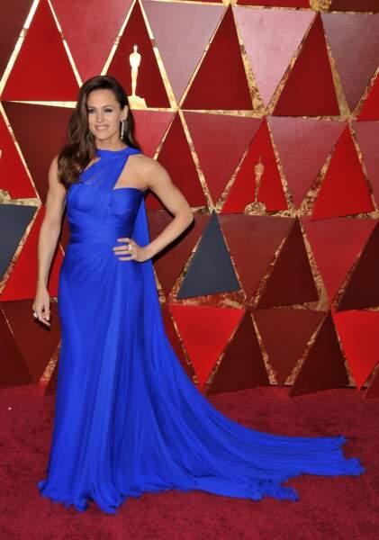 Jennifer Garner à la 90e cérémonie des Oscars, à Los Angeles le 4 mars 2018