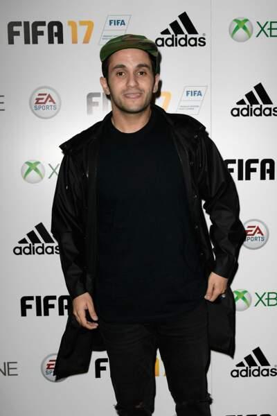 Soirée de lancement FIFA 2017 : Malik Bentalha