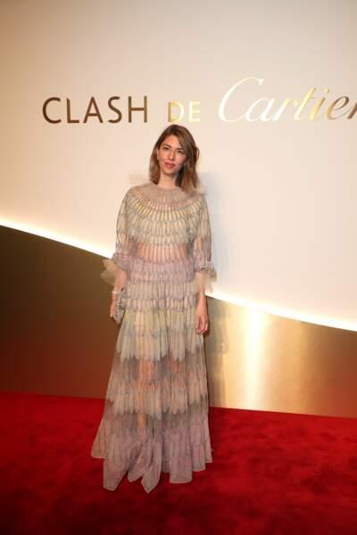 Sofia Coppola au dîner Cartier, le 10 avril 2019 à la Conciergerie de Paris