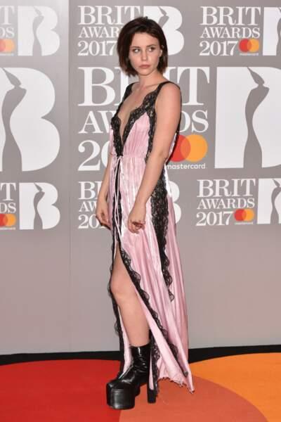Brit Awards 2017 : Billie JD Porter