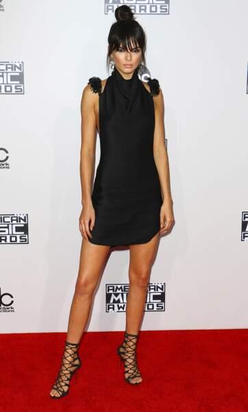Kendall s'est inspiré de Bai Ling pour ce look sans goût