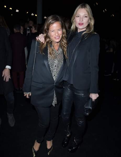 Kate Moss et sa copine Jade Jagger, qui s'apprête à être grand-mère (si si)