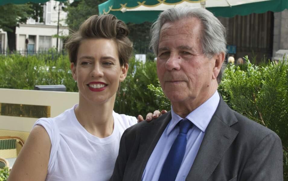 Jean-Louis Debré et sa fille, Marie-Victoire