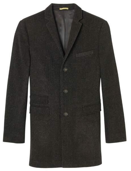 Le manteau droit en tweed Manteau, 159,99€ (Devred)