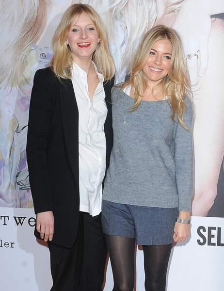Sienna Miller et sa soeur Savannah