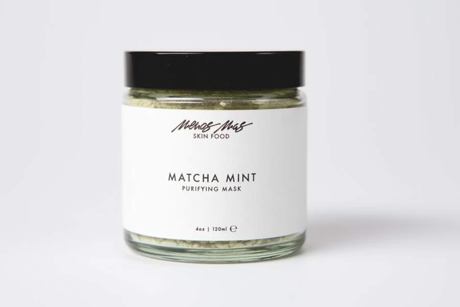 Match Mint, masque purifiant, Menos Mas, 45 euros