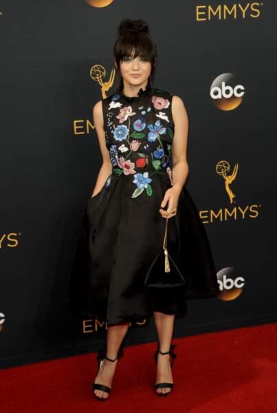Emmy Awards 2016 : Maisie Williams en Markus Lupfer