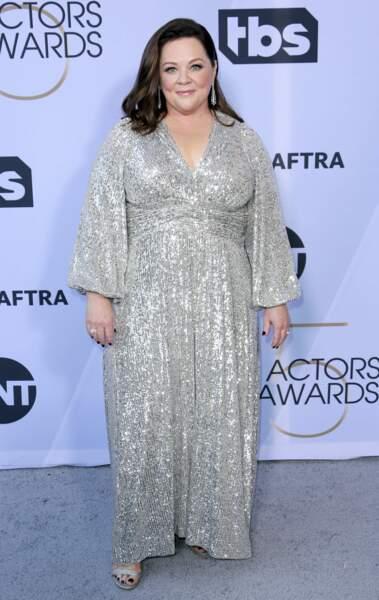 Melissa McCarthy aux SAG Awards 2019, le 27 janvier, à Los Angeles
