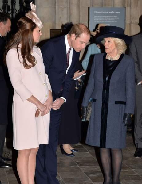 Kate, William et Camilla réunis pour la cérémonie inter religieuse de la Journée du Commonwealth