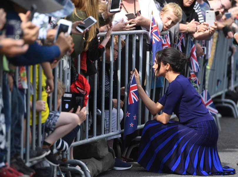 Meghan Markle en pleine tournée royale en Nouvelle-Zélande, à Rotorua