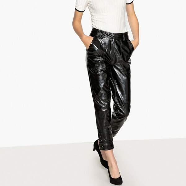 Pantalon en simili brillant, La Redoute Collections, actuellement à 17,50€