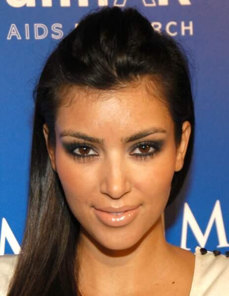 Avant / Après chirurgie esthétique, c'est réussi : Kim Kardashian avant