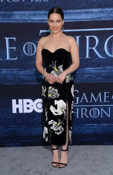 Emilia Clarke (Daenerys Targaryen de Game of Thrones)