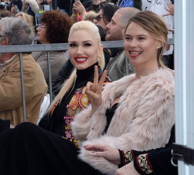 Gwen Stefani est venue applaudir son ami et collègue dans The Voice
