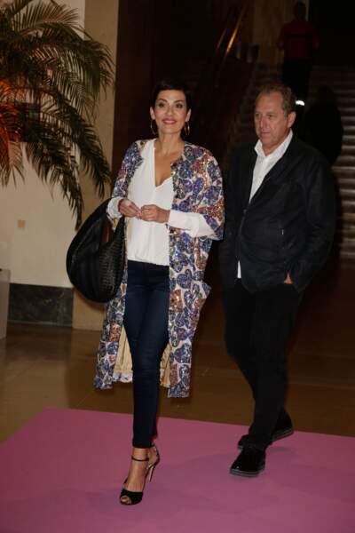 C'est ensemble qu'ils se sont rendus au Palais National de Chaillot où se tenait lieu la soirée caritative