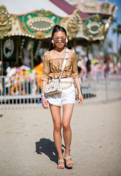 Les meilleurs looks de la première semaine de Coachella : Jaime Xie