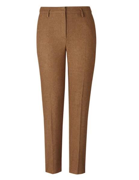 Pantalon en laine 49,99€ Mango
