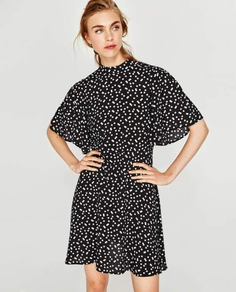 Zara : Robe à pois, 25,99 euros au lieu de 39,95 euros