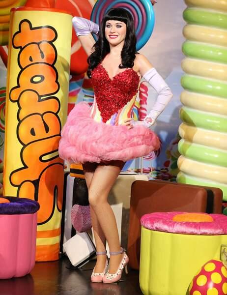 Katy Perry au Madame Tussauds de Londres