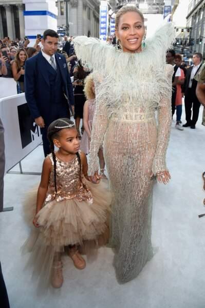 Beyoncé et Blue Ivy, les stars du red carpet new-yorkais