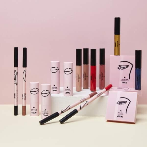 La collection ASOS Make-Up