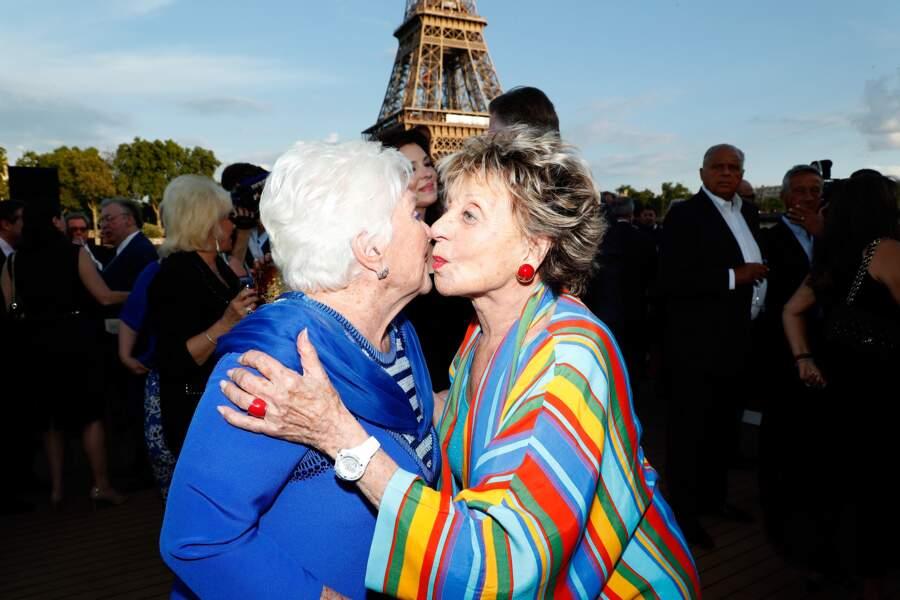 Annie Cordy, qui a fêté ses 90 ans le 16 juin dernier, ne pouvait pas rater la soirée d'anniversaire de Line Renaud