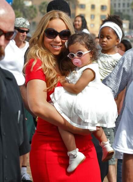 Mariah Carey et Monroe