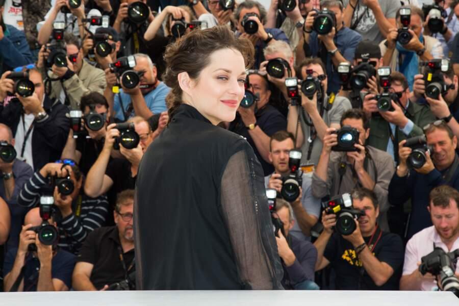 Festival de Cannes 2016 : Marion Cotillard, imperturbable
