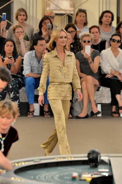 Vanessa Paradis, égérie Chanel depuis de longues années
