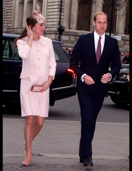 Le couple princier est toujours aussi élégant, et Kate aussi mince
