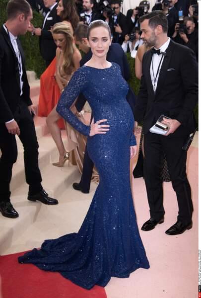 Emily Blunt en Michael Kors Collection