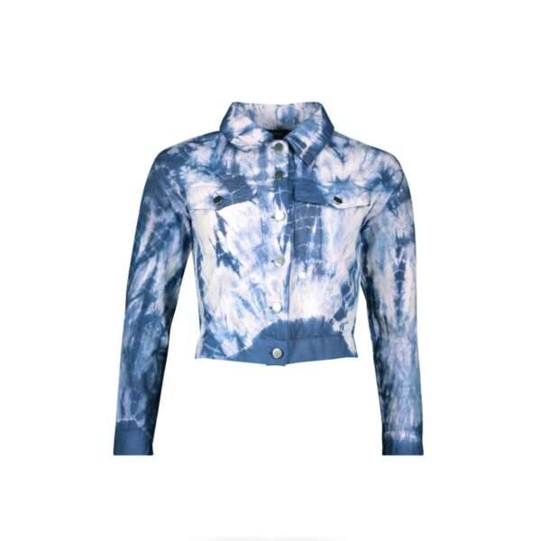 Veste tie and dye, Boohoo, actuellement à 21,60€