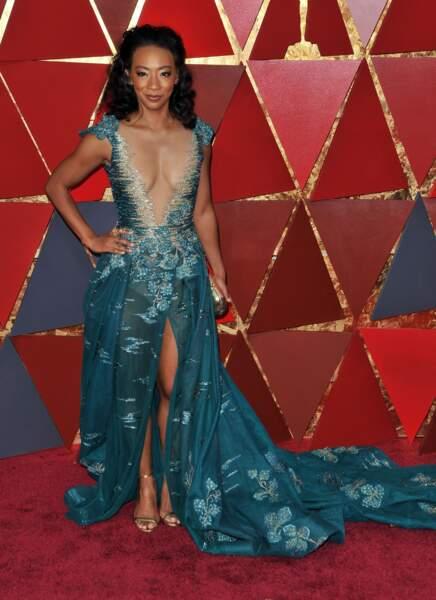 Betty Gabriel à la 90e cérémonie des Oscars, à Los Angeles le 4 mars 2018