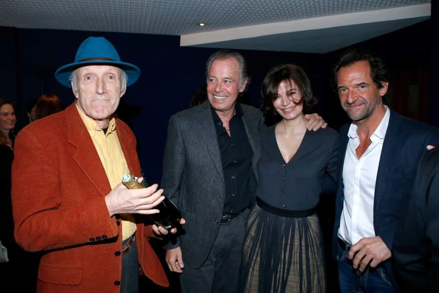 Avant-première du film Chacun sa vie : Rufus, Michel Leeb, Marianne Denicourt et Stéphane De Groodt