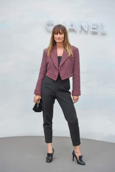 Défilé Chanel : Caroline de Maigret