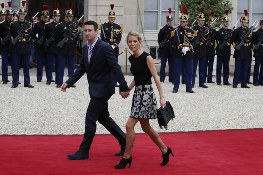 Tiphaine Auzière et son mari