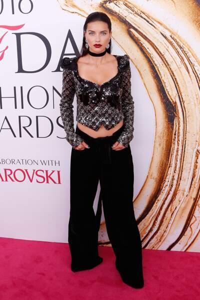 CFDA Fashion Awards : Adriana Lima