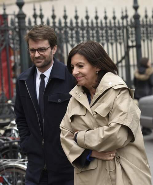 Anne Hidalgo, à l'hommage à Jacques Higelin au Cirque d'Hiver à Paris, le 12 avril