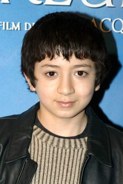 Jules Sitruk à l'époque du film Moi César, 10 ans 1/2, 1,39 m