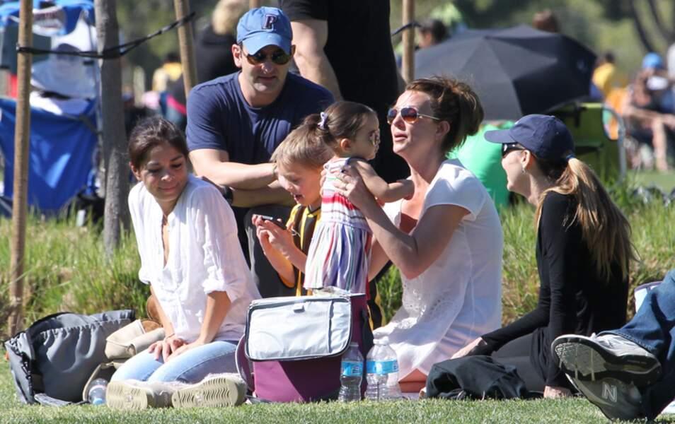 Britney Spears avec des amis