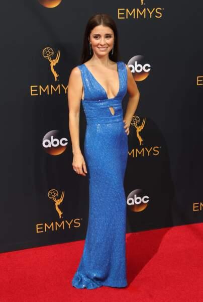 Emmy Awards 2016 : Shiri Appleby (Unreal) en Diane Von Furstenberg