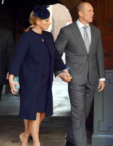 Zara Phillips, la seule marraine du prince George issue de la famille royale, est enceinte
