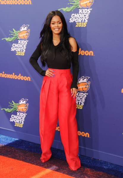 Les don'ts de la semaine : le pantalon large - Teyana Taylor