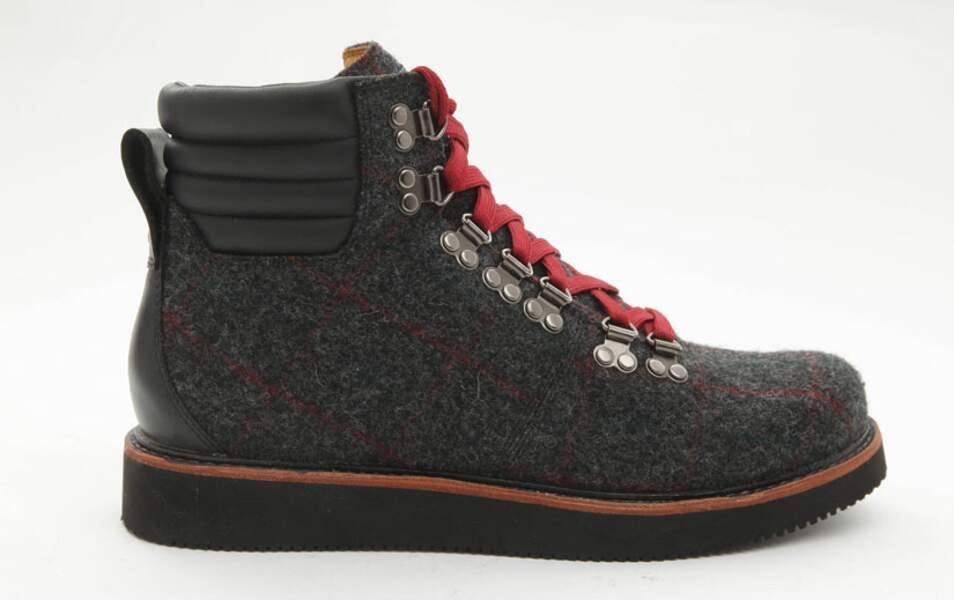 Chaussures en feutre, 160€ (Timberland sur menlook.com)
