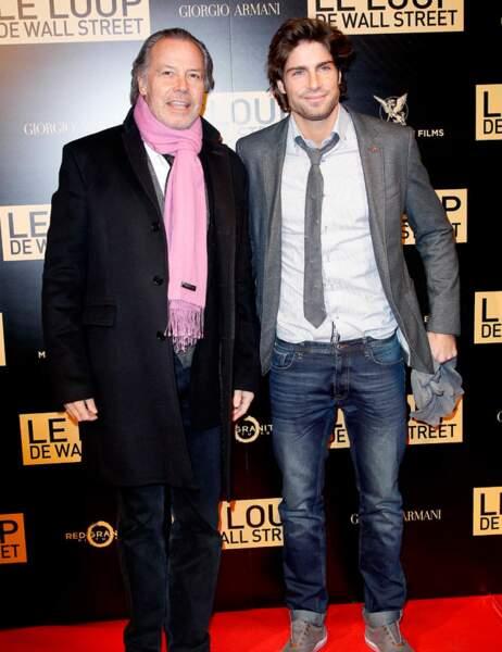 Michel Leeb et son fils, le charmant Tom Leeb
