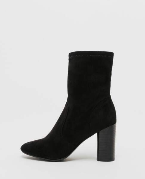 Pimkie : 35 articles soldés sur lesquels on craque : Boots à talons hauts, 20 euros au lieu de 29,99 euros