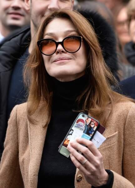 8ème - Carla Bruni-Sarkozy avec 32% d'opinions défavorables